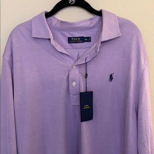Men's Ralph Lauren long sleeved Polo Shirt - XXL